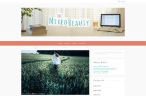 Home Page The Mixed Beauty